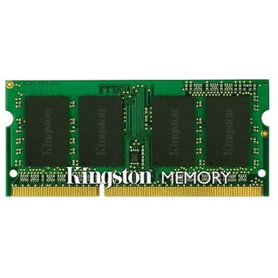Оперативная память Kingston SODIMM 2GB 1600MHz DDR3 Non-ECC CL11 SR X16 KVR16S11S6/2