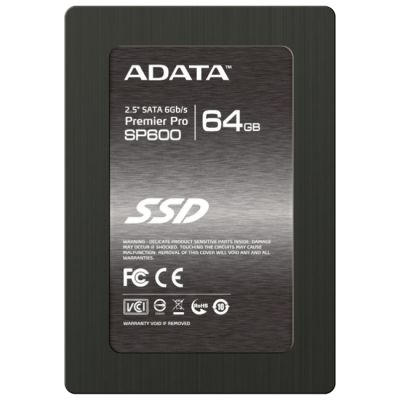 SSD-диск ADATA Premier Pro SP600 64GB ASP600S3-64GM-C