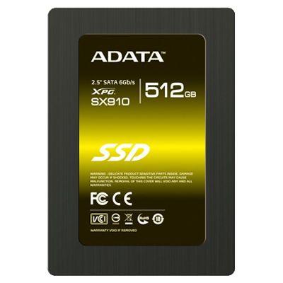 SSD-диск ADATA XPG SX910 512GB ASX910S3-512GM-C