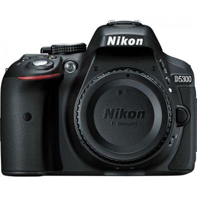 Зеркальный фотоаппарат Nikon D5300 Body Black [VBA370AE]
