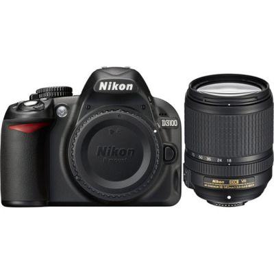 Зеркальный фотоаппарат Nikon D3100 kit 18-140 vr [VBA280KR21]