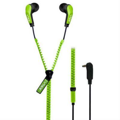 Наушники VIBE Slick zip green-V2