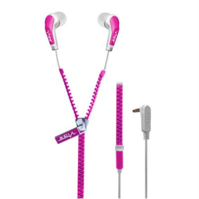 Наушники VIBE Slick zip pink-V2