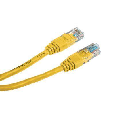 Кабель Neomax Patch Cord UTP 1.5м, Категории 5е - желтый NM13001015Y