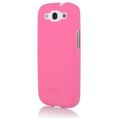 Incipio клип-кейс для Galaxy S III Feather neon Pink SA-297