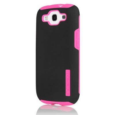 Incipio клип-кейс для Galaxy S III SILICRYLIC Black/ Neon Pink SA-303