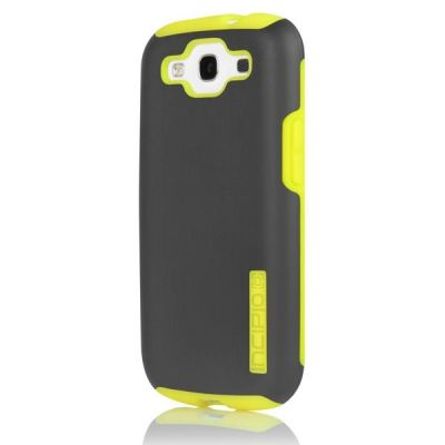 Incipio клип-кейс для Galaxy S III SILICRYLIC Dark Gray/Yellow SA-304