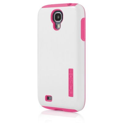 Incipio клип-кейс для Galaxy S 4 DualPro Shine Optical White/Hot Pink SA-381