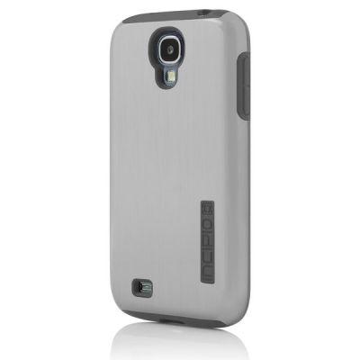 Incipio клип-кейс для Galaxy S 4 DualPro Shine Silver/Graphite Gray SA-380