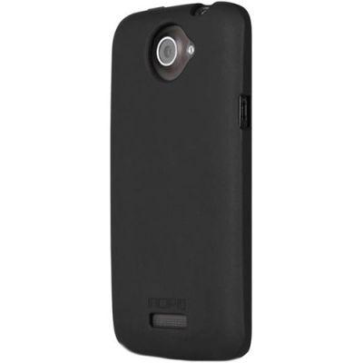 Incipio клип-кейс для HTC One X Feather Shine Black/clear HT-301
