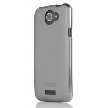Incipio клип-кейс для HTC One X Feather Shine Silver/clear HT-277