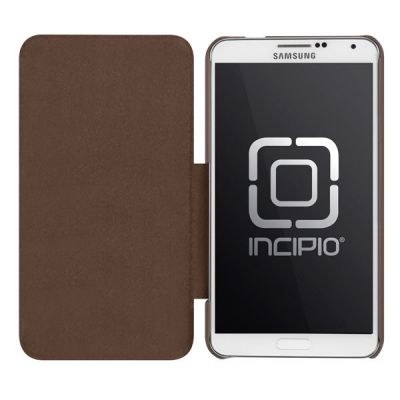 Incipio чехол-книжка для Galaxy Note 3 PlexFolio Brown SA-488-BRN