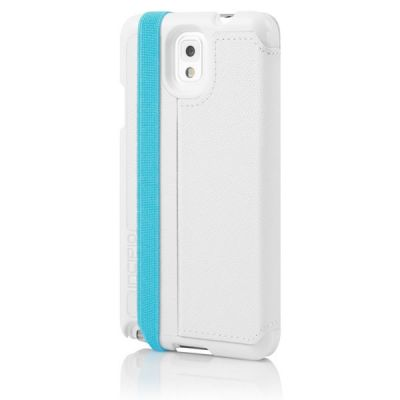 Incipio чехол-книжка для Galaxy Note 3 Watson White/Cyan SA-489-WHTCYN