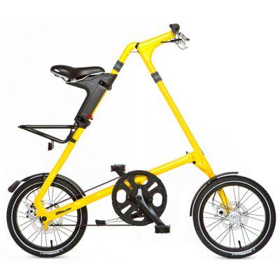 """Велосипед Strida 5/2 (2014) 16"""" желтый"""