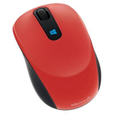 ���� Microsoft Sculpt Mobile Flame Red Retail 43U-00026
