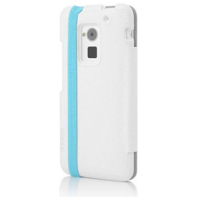 Incipio чехол-книжка для HTC One Max Watson White/Turquoise HT-395-TRQ