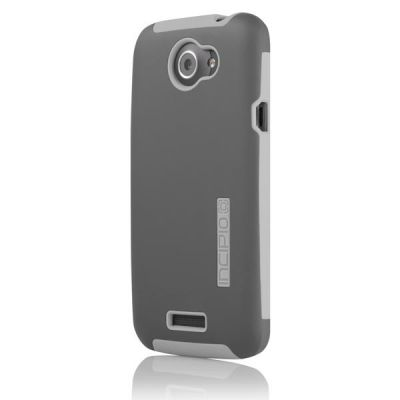 Incipio накладка для HTC One X Silicrylic Dark Gray / Light Gray HT-286