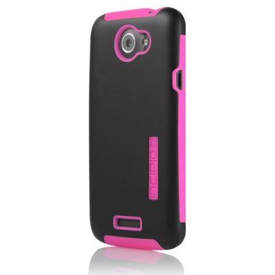 Incipio накладка для HTC One X Silicrylic Neon Pink / Black HT-284