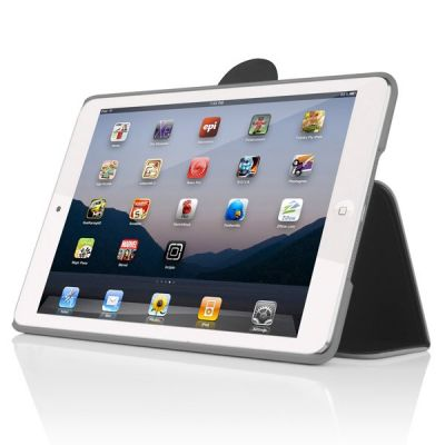 Чехол Incipio обложка-подставка для iPad mini Lexington Charcoal Gray / Light Gray IPAD-307