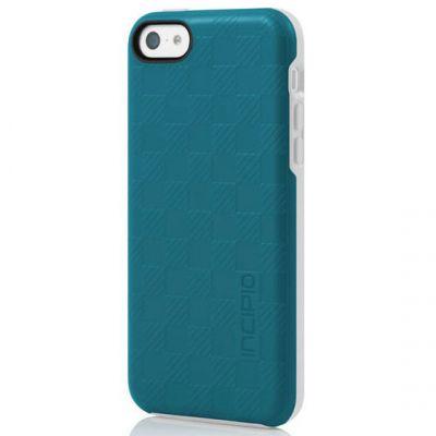 Incipio Клип-кейс для iPhone 5c Rowan бирюзовый IPH-1137-TRQ