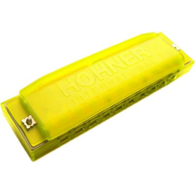 Губная гармоника Hohner детская Happy Yellow C