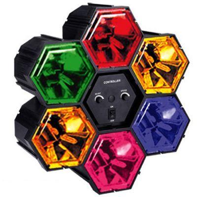 Световой эффект Funray стробоскоп (6 цветов) 986B