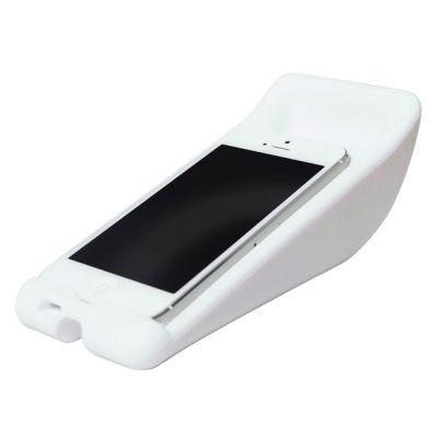 Чехол VIBE силиконовый для iPhone 5 White