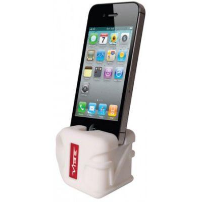 VIBE подставка силиконовая для iPhone 5 White