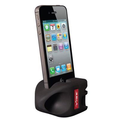 VIBE подставка силиконовая для iPhone 5 Black