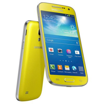 Смартфон Samsung Galaxy S4 mini GT-I9190 Yellow GT-I9190ZYASER