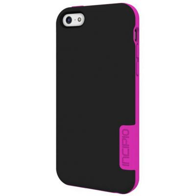 Incipio Клип-кейс для iPhone 5c OVRMLD Black/Neon Pink IPH-1147-BLK