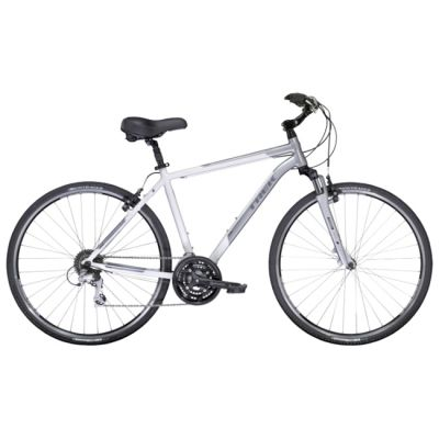 """Велосипед TREK Verve 3 (2014) 25"""" бело - серый"""