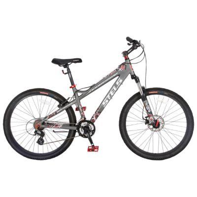 "Велосипед Stels Aggressor (2014) 16"" серый"