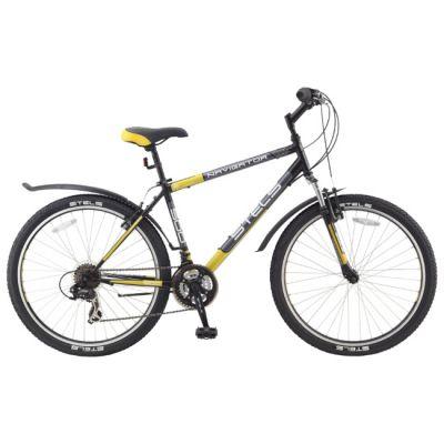 """Велосипед Stels Navigator 500 (2014) 21.5"""" желтый"""