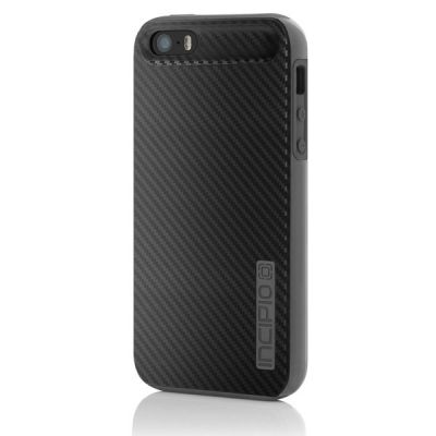 Incipio накладка для iPhone 5 Dual PRO CF Black/Gray Silicone IPH-913