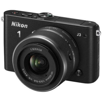 Компактный фотоаппарат Nikon 1 J3/Black