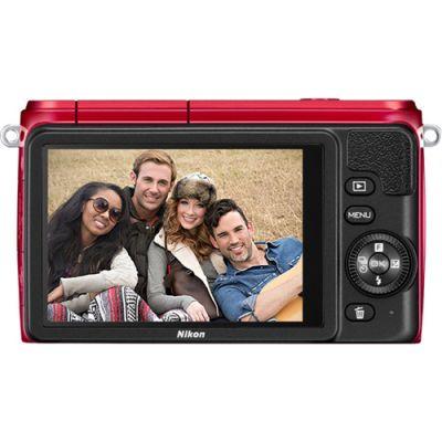Компактный фотоаппарат Nikon 1 S1/Red
