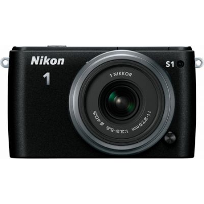 ���������� ����������� Nikon 1 S1 kit 11-27.5mm + 30-110mm/Black