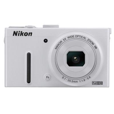 Компактный фотоаппарат Nikon Coolpix P330/White [VNA241E1]