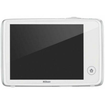 Компактный фотоаппарат Nikon Coolpix S02/White