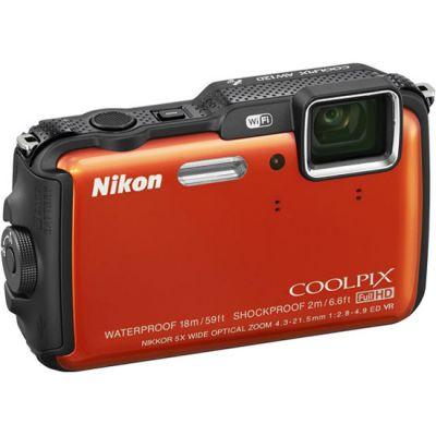 Компактный фотоаппарат Nikon Coolpix AW120/Orange