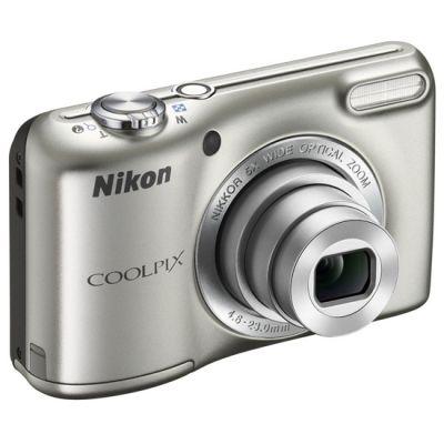 Компактный фотоаппарат Nikon Coolpix L27/Silver [VNA360E1]
