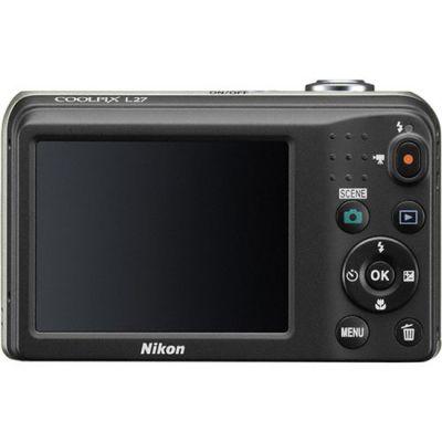���������� ����������� Nikon Coolpix L27/Black [VNA361E1]
