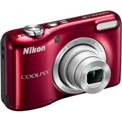 Компактный фотоаппарат Nikon Coolpix L29/Red [VNA682E1]
