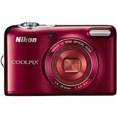 Компактный фотоаппарат Nikon Coolpix L30/Red [VNA632E1]