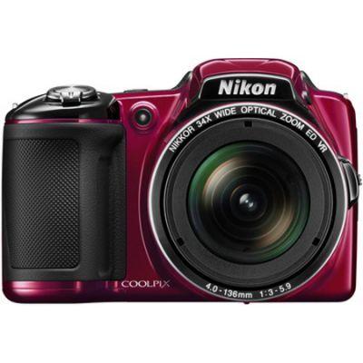 ���������� ����������� Nikon Coolpix L830/Red [VNA601E1]