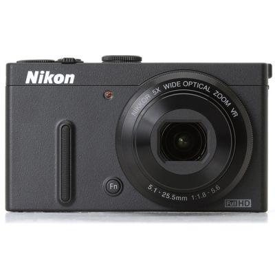 Компактный фотоаппарат Nikon Coolpix P330/Black [VNA240E1]