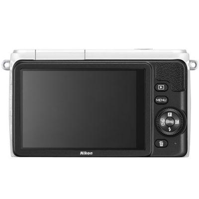 Компактный фотоаппарат Nikon 1 S1 Kit 11-27.5mm/White [VVA192K005]