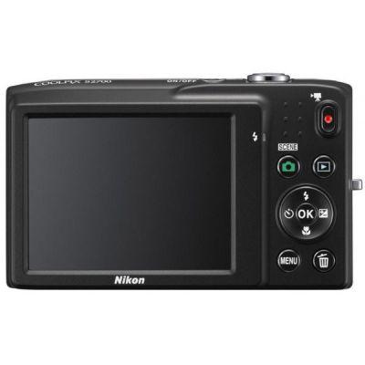 Компактный фотоаппарат Nikon Coolpix S2700/Silver [VNA300E1]