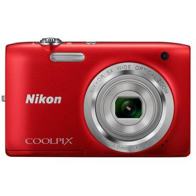 ���������� ����������� Nikon Coolpix S2800/Red [VNA572E1]